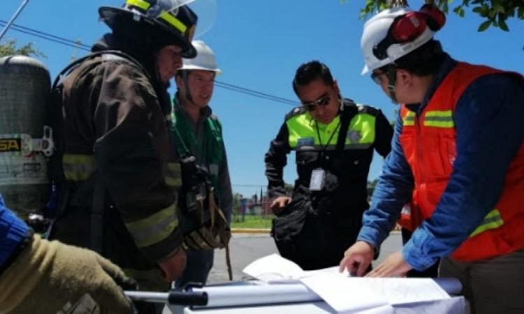 Fuga de gas afecta a pobladores del sur de la ciudad de Puebla