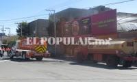 Reportan incendio en San Jerónimo Caleras