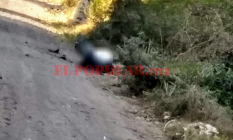 Hallan cadáver emplayado y embolsado en Coronango