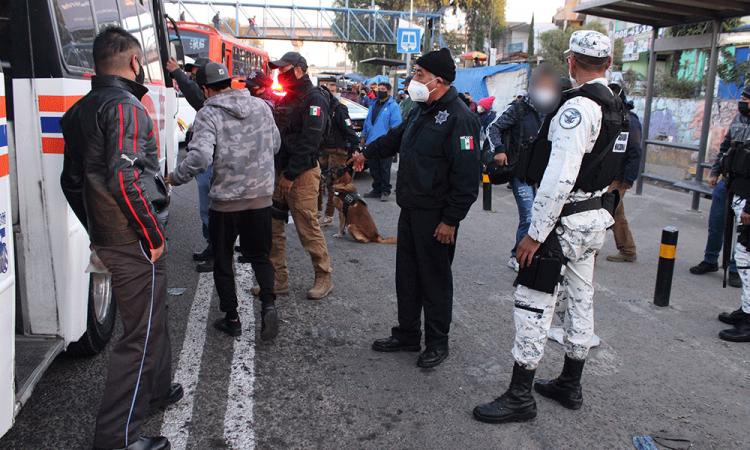 Reportan asalto a S-14 en Cuautlancingo