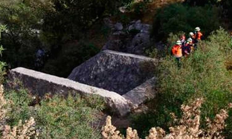 Encuentran cadáver de señor desaparecido en barranco de San Antonio Abad