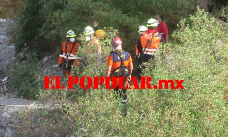 Hallan cadáver de hombre en barranca estaba reportado como desaparecido en la colonia Bosques de San Sebastián
