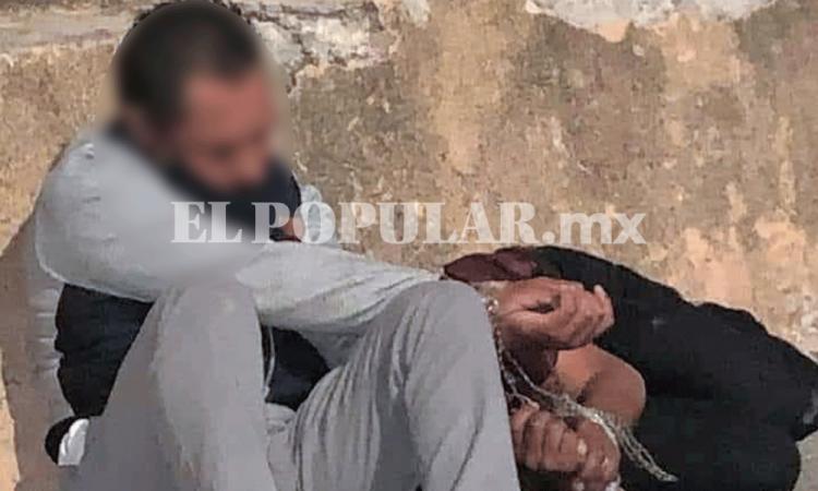 Dos asaltantes terminan detenidos y golpeados en fraccionamiento Los Héroes