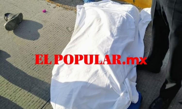 Motociclista muere al caer varios metros en el municipio de Amozoc de Mota
