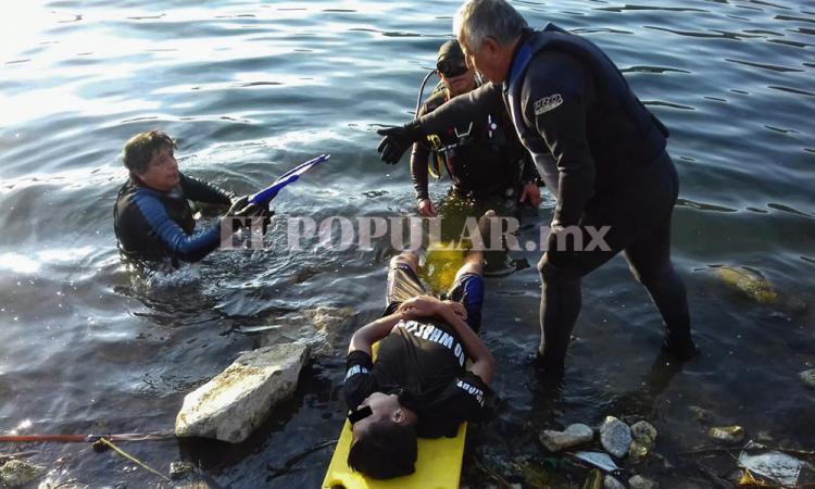 Joven va a día de campo y muere ahogado en la Laguna de Aljojuca
