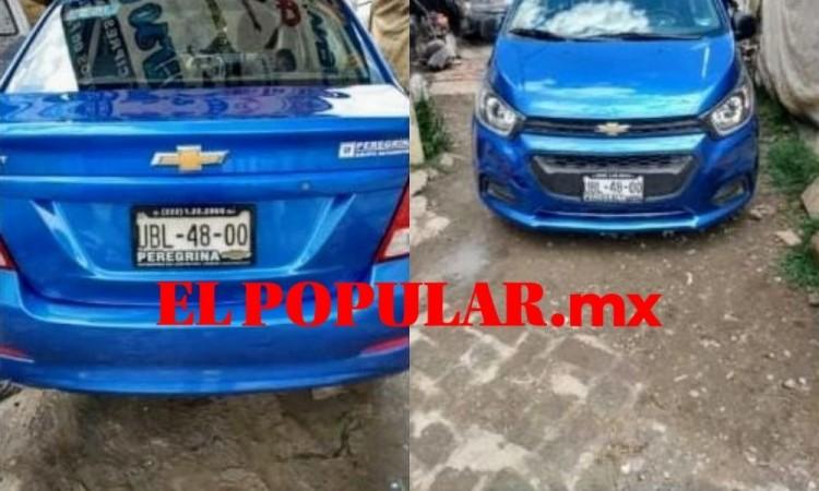 En asalto roban auto a conductor de Cabify en Cuautlancingo