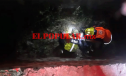 Hombre alcoholizado sufre caída y resulta herido en San Jerónimo Caleras