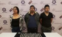 Detienen a tres presuntos narcomenudistas de Tehuacán
