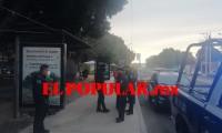 Fallece otro indigente en vía pública frente al parque 2 de Octubre, en la colonia Xonaca