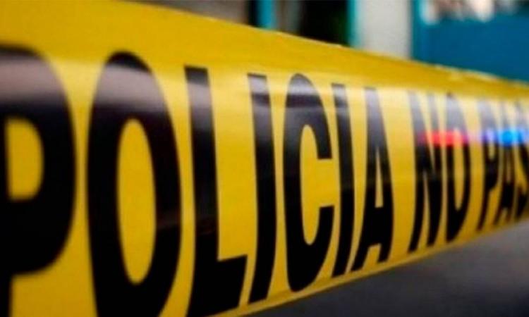La Policía Municipal de acordonó la escena del crimen.