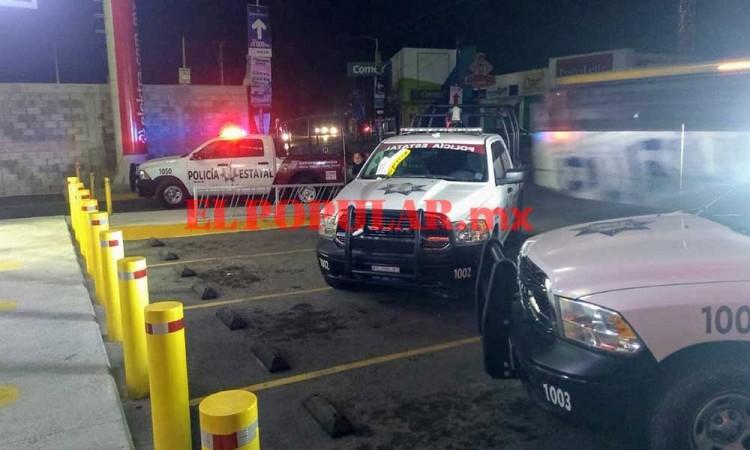 Reportan intento de robo a tienda Elektra en Coronango