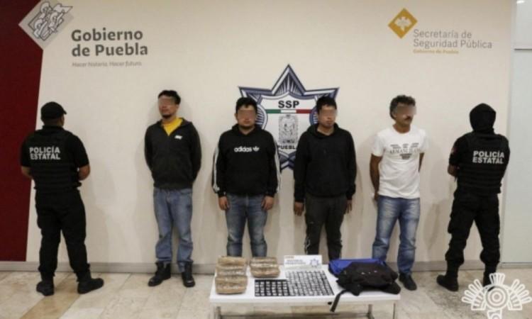 Capturan a cuatro presuntos distribuidores de El Chupón