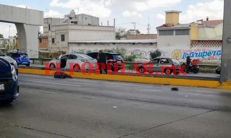 Hombre en situación de calle muere al ser atropellado en la carretera México-Puebla