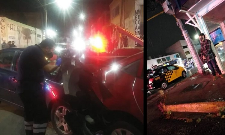 En una hora, ocurren varios percances vehiculares en Puebla