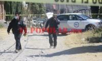 Hombre muere en la calle por aparentemente broncoaspiración