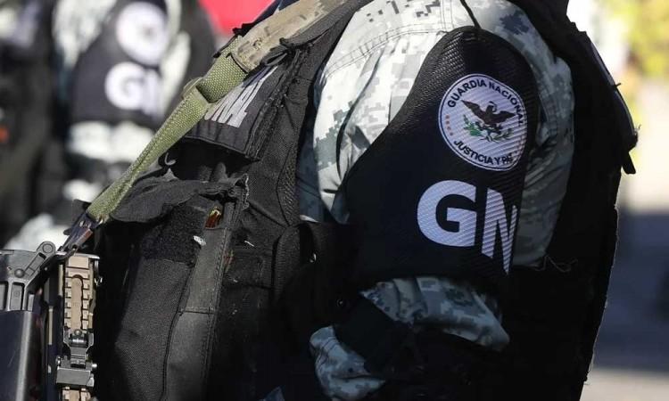 Elemento de la Guardia Nacional detenido en Yucatán tiene nexos con el cartel de Los Rojos
