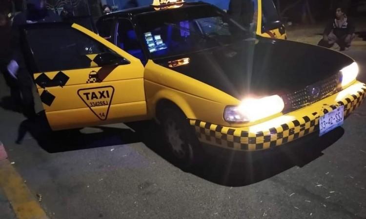 Matan a taxista en Santa Clara Ocoyucan