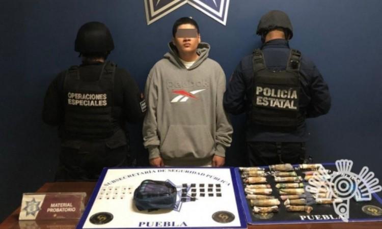 Estatales detienen a presunto vendedor de droga de 'Los Angelinos 13'