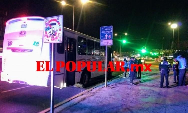 Otro atraco a pasajeros de transporte público en Cuautlancingo