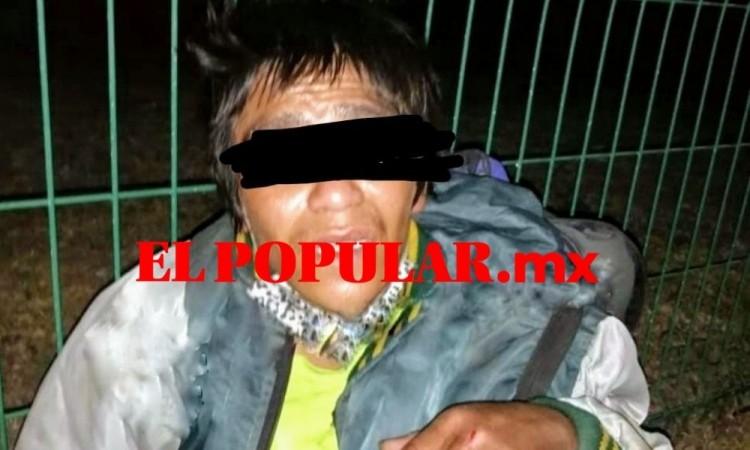 Presunto ladrón es detenido por ciudadanos en San Pedro Cholula
