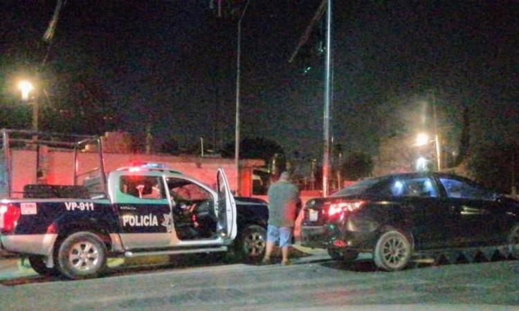 Ocurre otro choque de patrulla municipal de Puebla