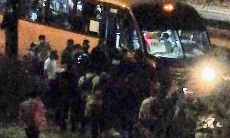 Dos asaltantes de rutas detenidos por habitantes de Cuautlancingo