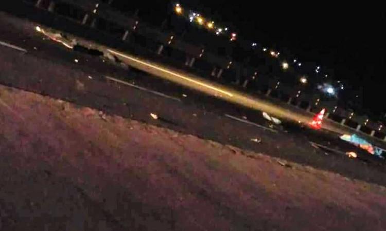 Muere motociclista en la Puebla-Orizaba, lo arrolló un auto
