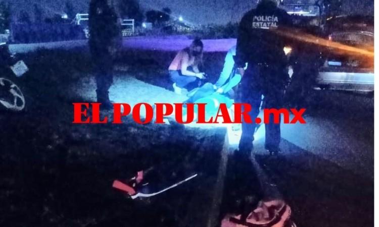 Motociclista muere en percance vehicular en San Andrés Cholula