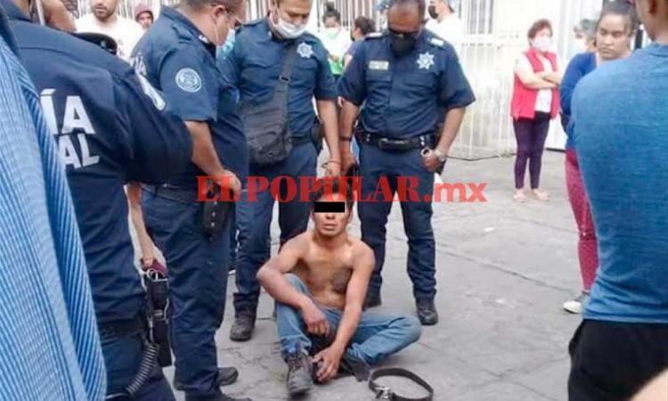 Vecinos de Villa Frontera detienen y golpean a presunto ladrón