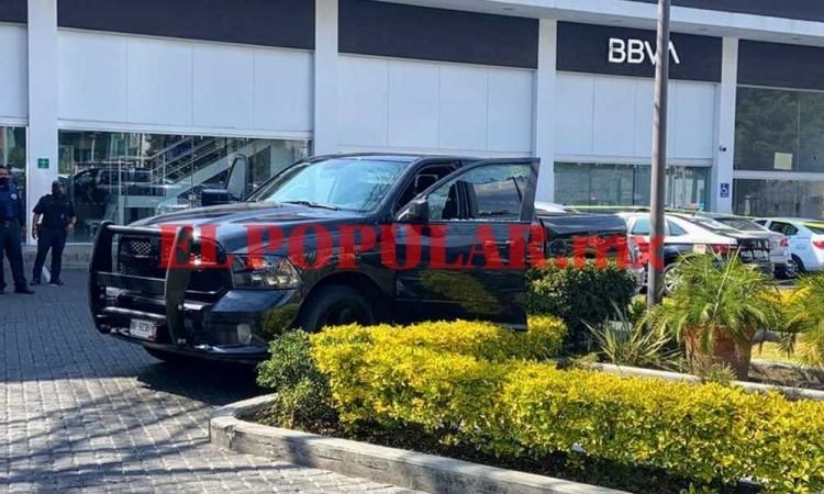 Durante asalto, cuentahabiente resulta baleado en la colonia La Paz