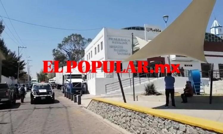 Asaltan la presidencia de Ignacio Romero Vargas