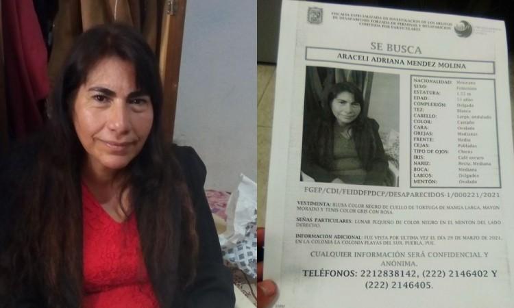 Buscan a mujer desaparecida en la colonia Playas del Sur