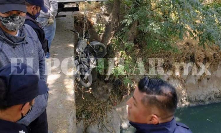Fallece presunto asaltante en choque durante persecución