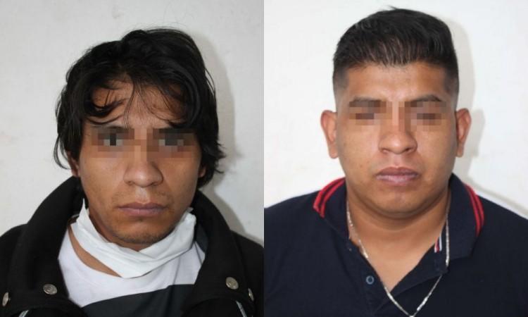 Capturan a dos presuntos narcomenudistas en Puebla