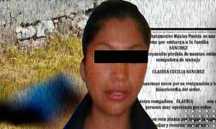 Envían a prisión a presunto feminicida de Claudia Cecilia