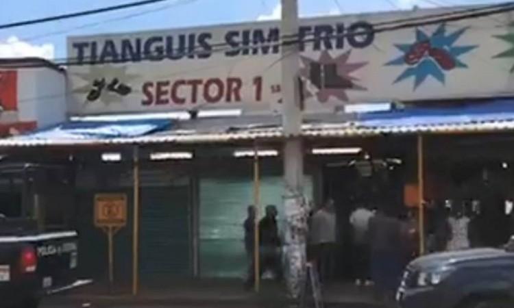 Realizan operativo en la zona del tianguis de La Cuchilla