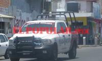 Durante persecución contra narcomenudistas, policías logran detener a cuatro sujetos al sur de Puebla