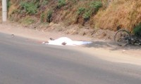 Ciclista muere en percance vehicular en Texmelucan
