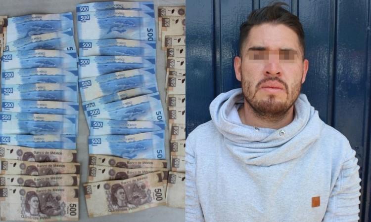 Detienen a sujeto por robo de 25 mil pesos durante presunta venta de vehículo en la colonia Universidades