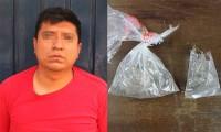 Detienen a taxista con droga en la colonia Solidaridad Nacional, presuntamente es asaltante de cuentahabientes