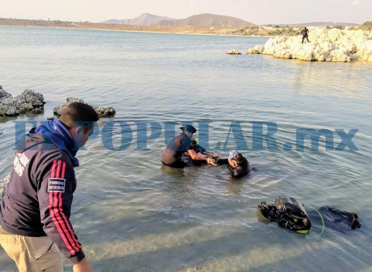 Menor de edad y su padre mueren ahogados en laguna
