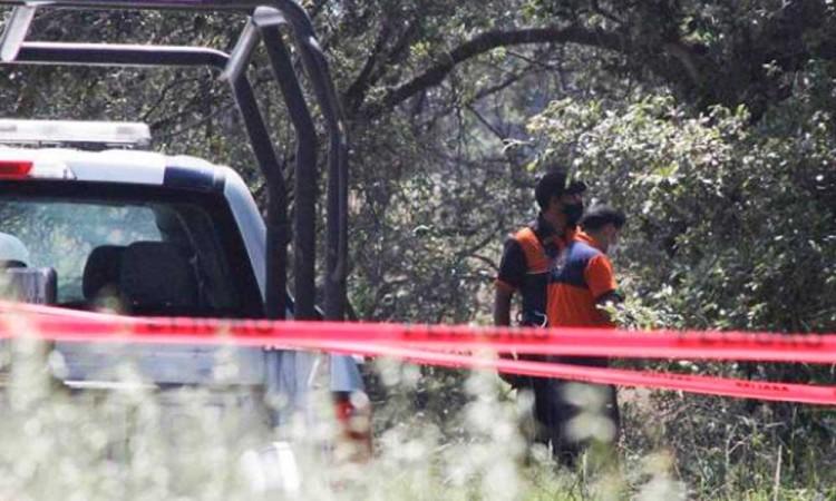 Localizan cadáver maniatado y baleado en Tlaxcala, cerca de Puebla