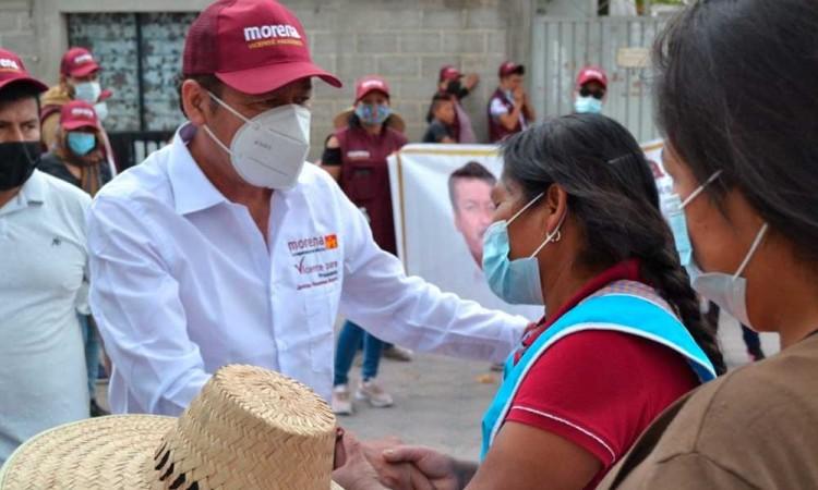 Secuestran a Hilario Martínez candidato en Palmar de Bravo