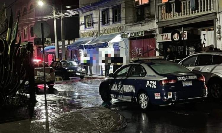 En atraco a farmacia matan a trabajador en San Pedro Cholula