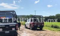 Localizan cadáver de mujer en terrenos de siembra en Izúcar de Matamoros
