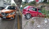 ¿Carritos chocones? Tres choques causan cierre parcial de la autopista México-Puebla