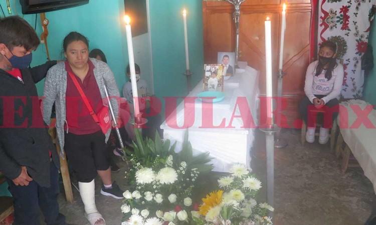 Exigen justicia por muerte de menor en San Francisco Totimehuacan, piden se investigue a fondo