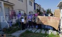Personal de Fiscalía agrede a familiares de Zyanya Figueroa Becerril durante manifestación
