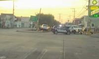 Choque entre camioneta y moto deja un muerto en la colonia Granjas de San Isidro