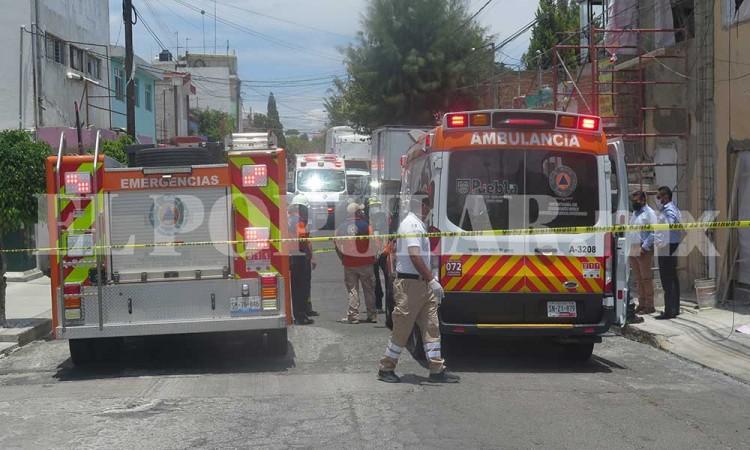 Albañil recibe descarga eléctrica mientras trabajaba en la colonia Belisarío Domínguez